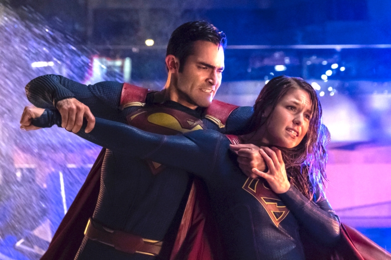 "Tyler Hoechlin and Melissa Benoist, ""Supergirl"""