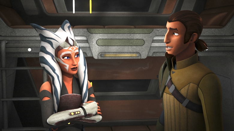 "Ahsoka and Kanan, ""Star Wars Rebels"""