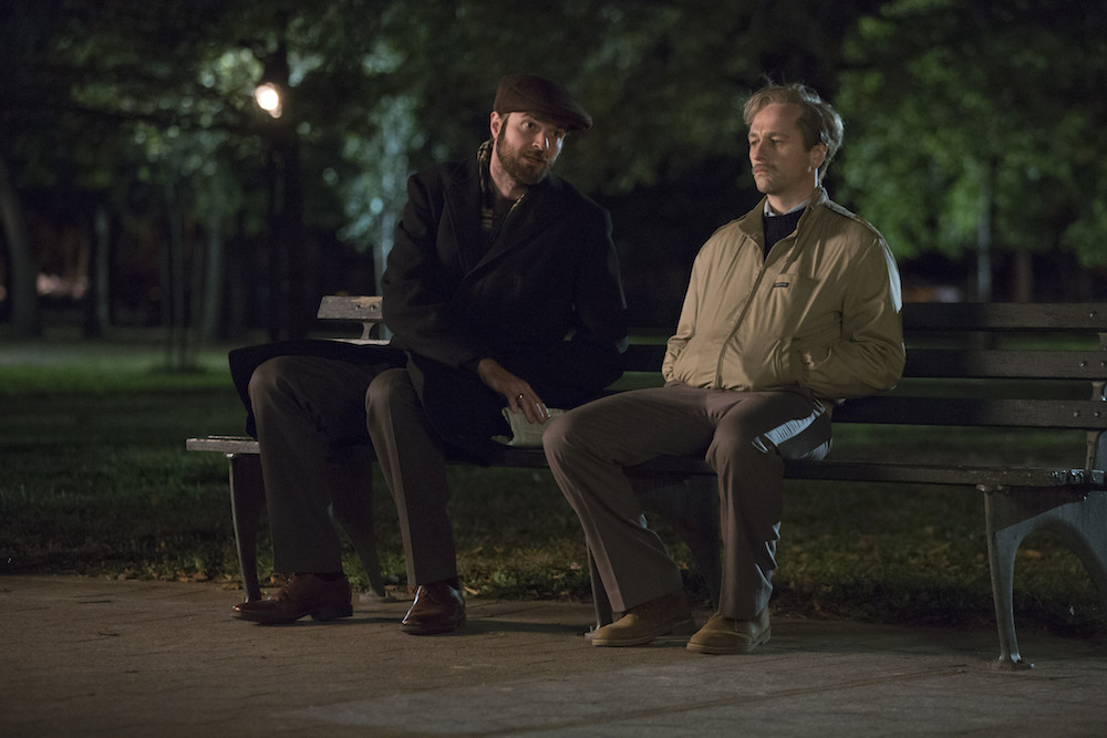 "THE AMERICANS ""Dead Hand"" -- Season 6, Episode 1 (Airs Wednesday, March 28, 10:00 pm/ep) -- Pictured: (l-r) Costa Ronin as Oleg Burov, Matthew Rhys as Philip Jennings"