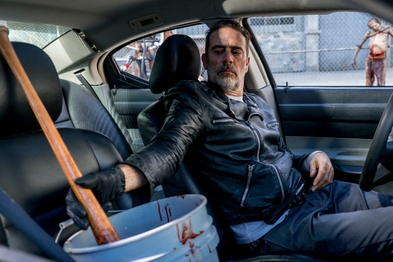 Jeffrey Dean Morgan as Negan - The Walking Dead _ Season 8, Episode 12 - Photo Credit: Gene Page/AMC