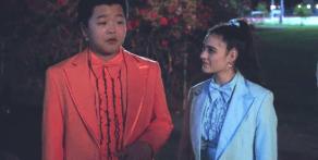 "Hudson Yang and Luna Blaise, ""Fresh Off the Boat"""