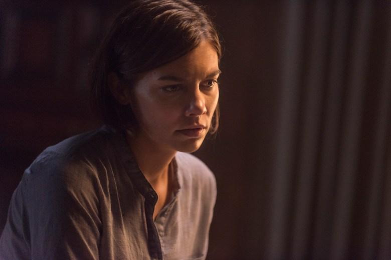 Lauren Cohan as Maggie Greene - The Walking Dead _ Season 8, Episode 13 - Photo Credit: Gene Page/AMC