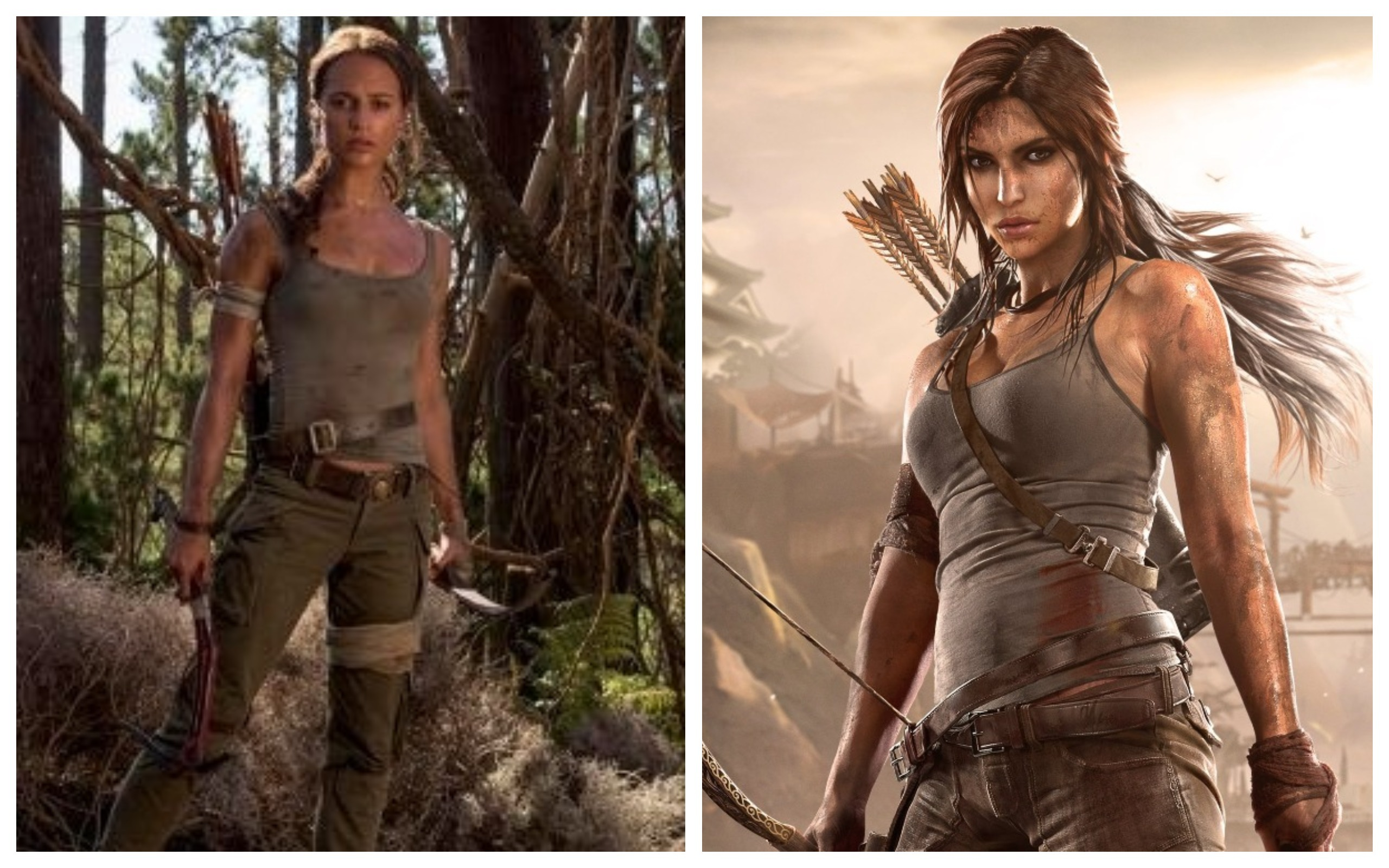And the new Lara Croft is