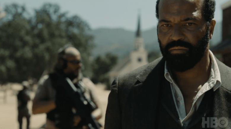 Westworld Season 2 Trailer Bernard Guns