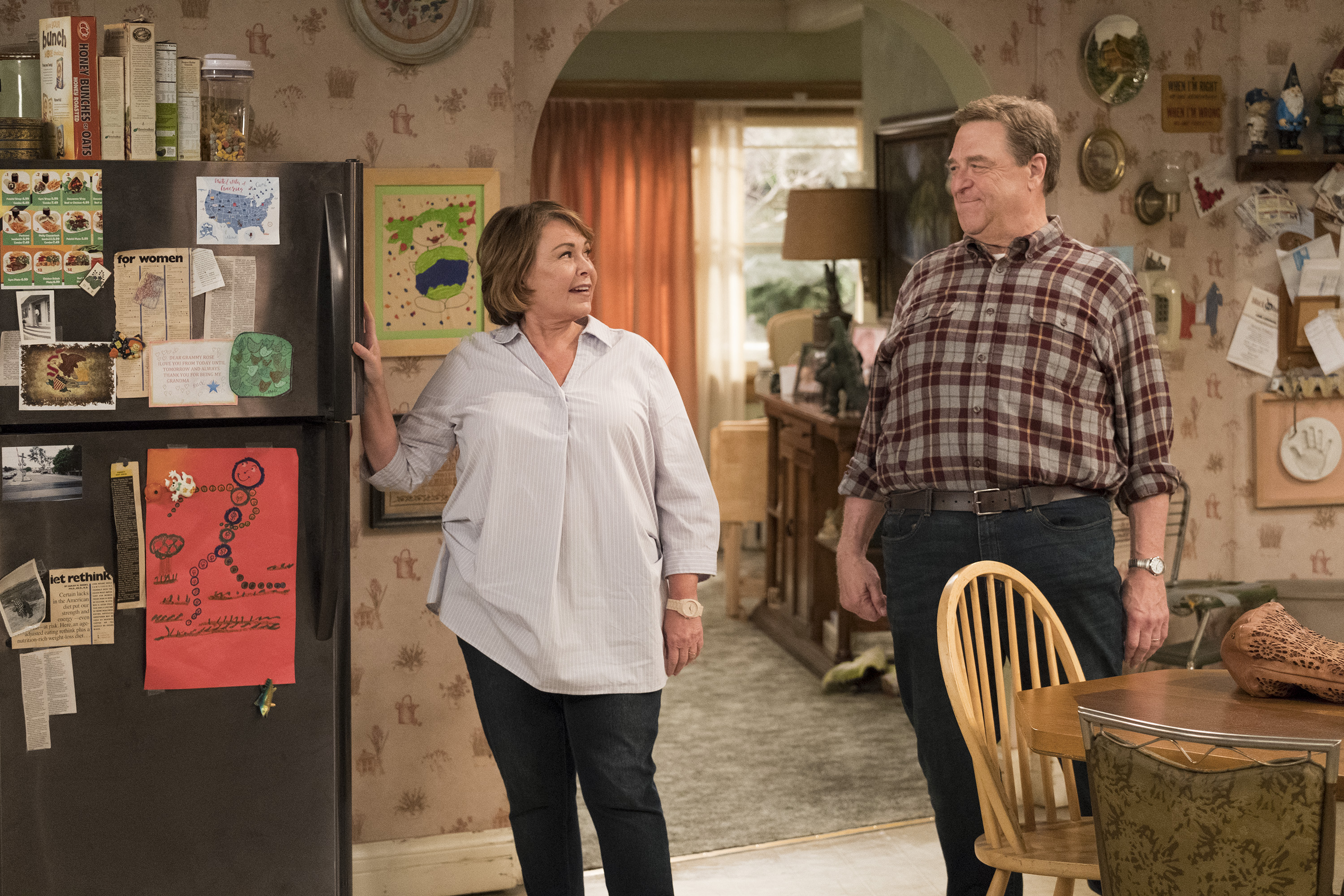 Roseanne Gets Snarky About Minority Shows Blackish Fresh Off The Boat
