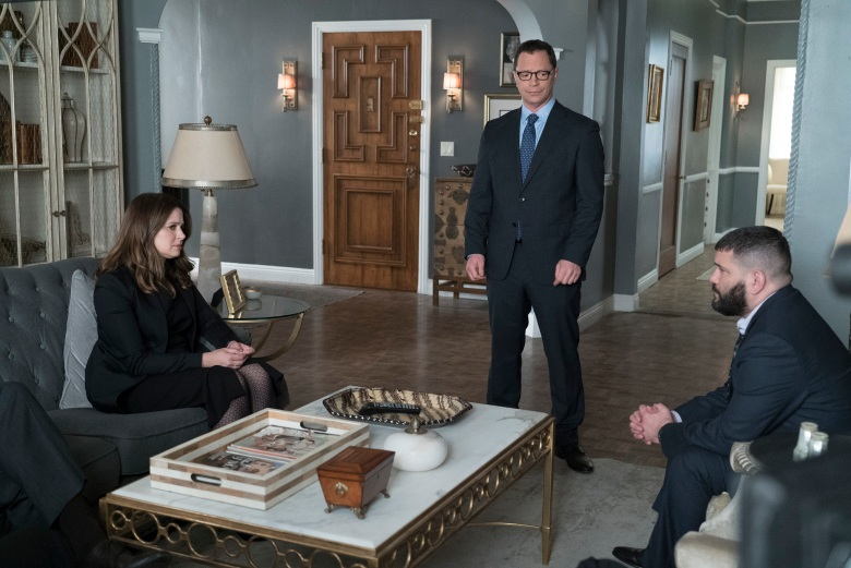 "SCANDAL - ""Over A Cliff"" - The highly anticipated series finale of the groundbreaking series, ""Scandal,"" receives a momentous send-off, beginning with an exclusive sneak peek at the final episode on ""Good Morning America,"" THURSDAY, APRIL 19 (7:00-9:00 a.m. EDT), on The ABC Television Network. (ABC/Eric McCandless)KATIE LOWES, JOSHUA MALINA, GUILLERMO DIAZ"