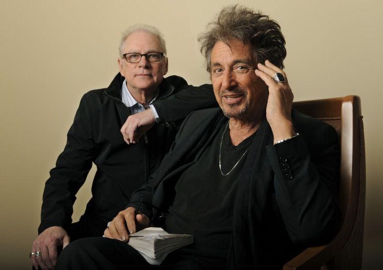 "Al Pacino, Barry Levinson Barry Levinson, left, director of the HBO film ""You Don't Know Jack,"" poses with star Al Pacino in Beverly Hills, Calif., . The film looks at the life and work of doctor-assisted suicide advocate Dr. Jack KevorkianYou Don't Know Jack Portraits, Beverly Hills, USA"