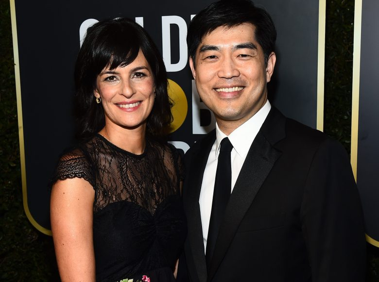 Sharon Tal and Albert Cheng75th Annual Golden Globe Awards, Executive Arrivals, Los Angeles, USA - 07 Jan 2018