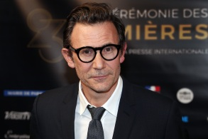 "Michel Hazanavicius poses during a photocall prior to the 23rd Lumieres awards ceremony at the ""Institut du Monde Arabe"" in Paris, . The Academie des Lumieres, is a group of 200 foreign journalists who reunite each year in Paris to vote for the best French filmsLumieres Awards, Paris, France - 05 Feb 2018"