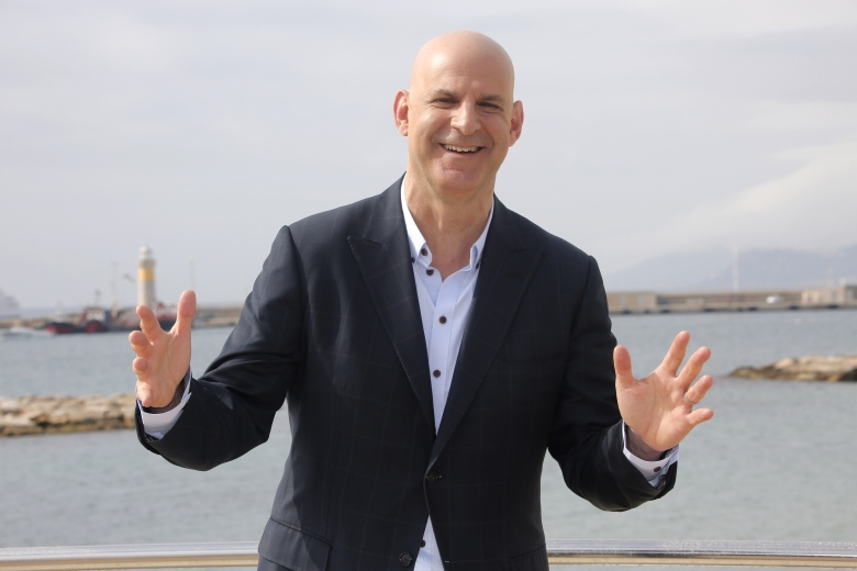 "American author Harlan Coben poses for photographers during the MIPTV, International Television Programme Market in Cannes, southern France. Coben, is changing publishers. Grand Central Publishing told The Associated Press on Thursday that it had reached a 5-book deal. Coben's books have more than 70 million copies in print worldwide. He has also developed the TV series ""The Five"" and the upcoming Netflix drama ""Safe,"" which premieres in AprilBooks-Harlan Coben, Cannes, France - 04 Apr 2016"