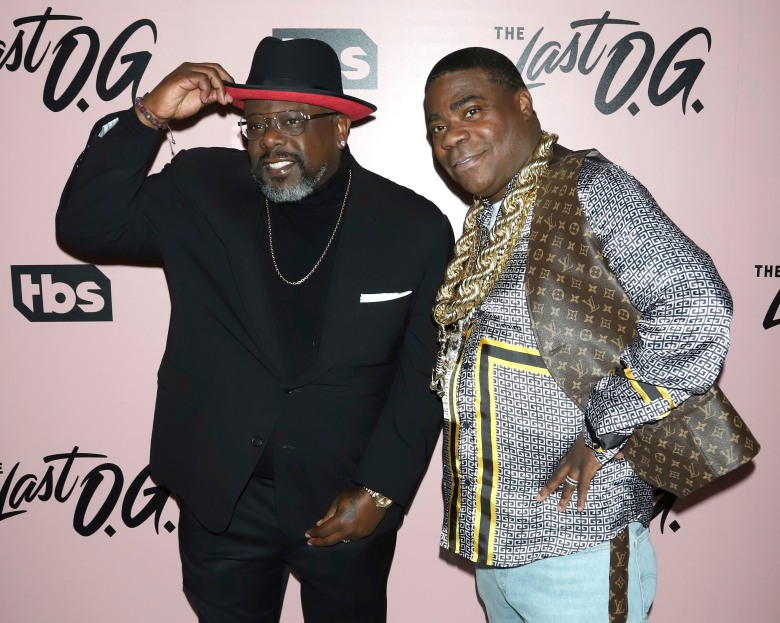 "Cedric the Entertainer, Tracy Morgan. Cedric the Entertainer, left, and Tracy Morgan attend the premiere of ""The Last O.G."" at The William Vale, in New YorkNY Premiere of ""The Last O.G."", New York, USA - 29 Mar 2018"