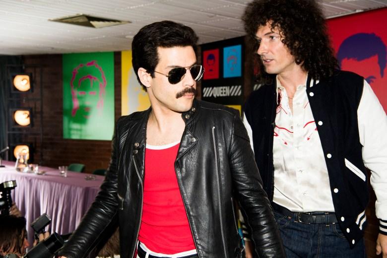 Rami Malek Freddie Mercury Gwilym Lee Brian May Twentieth Century Fox's BOHEMIAN RHAPSODY