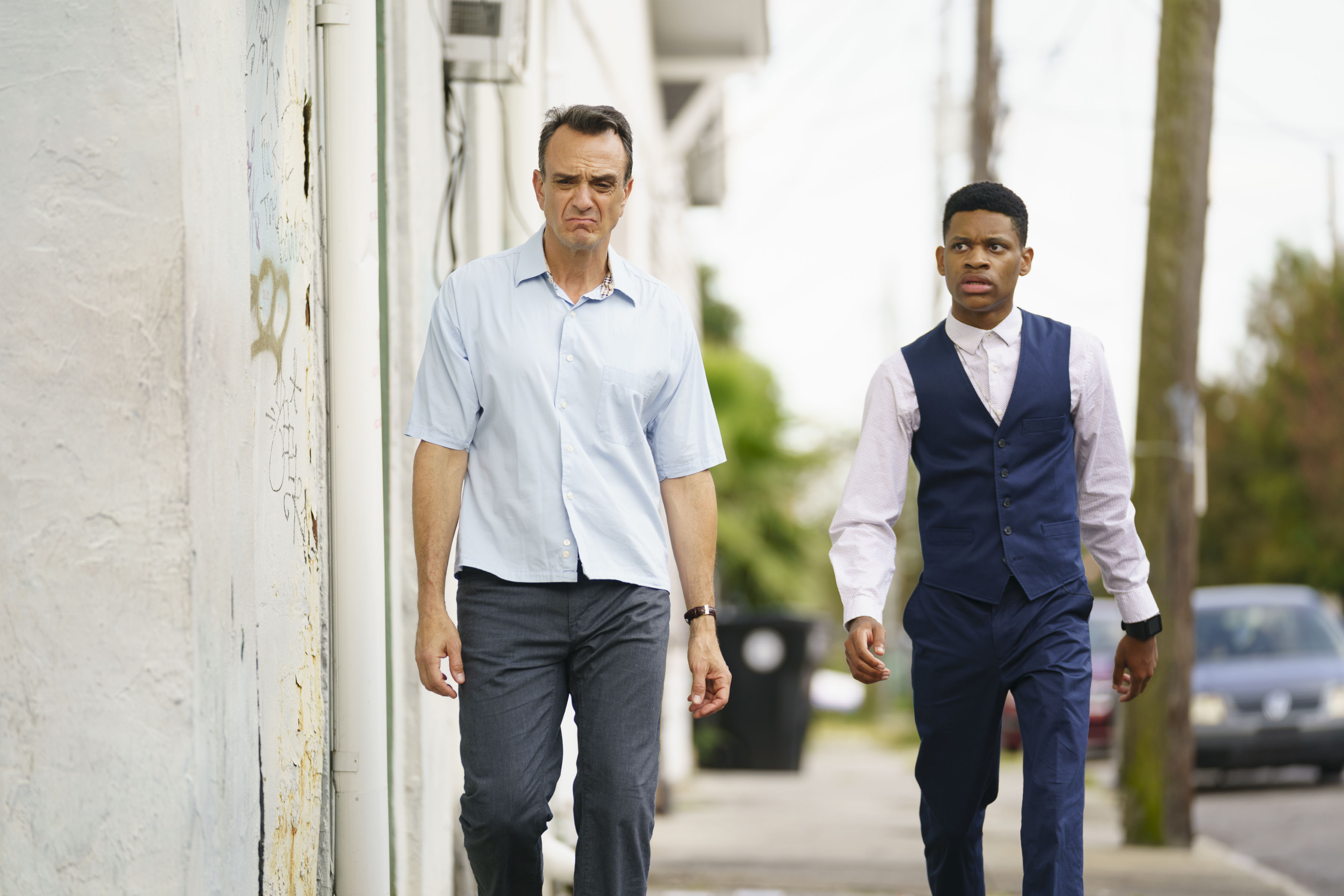 Hank Azaria, Tyrel Jackson Williams - Episode 201, The