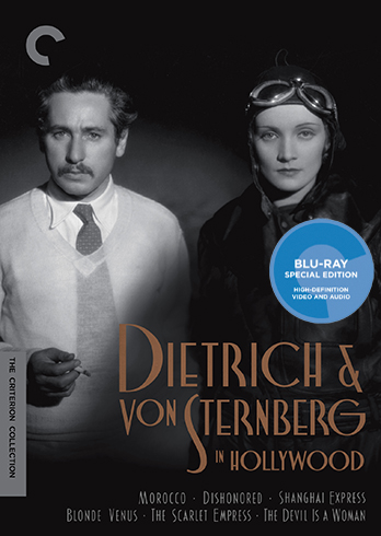 Dietrich & von Sternberg in Hollywood Criterion Collection