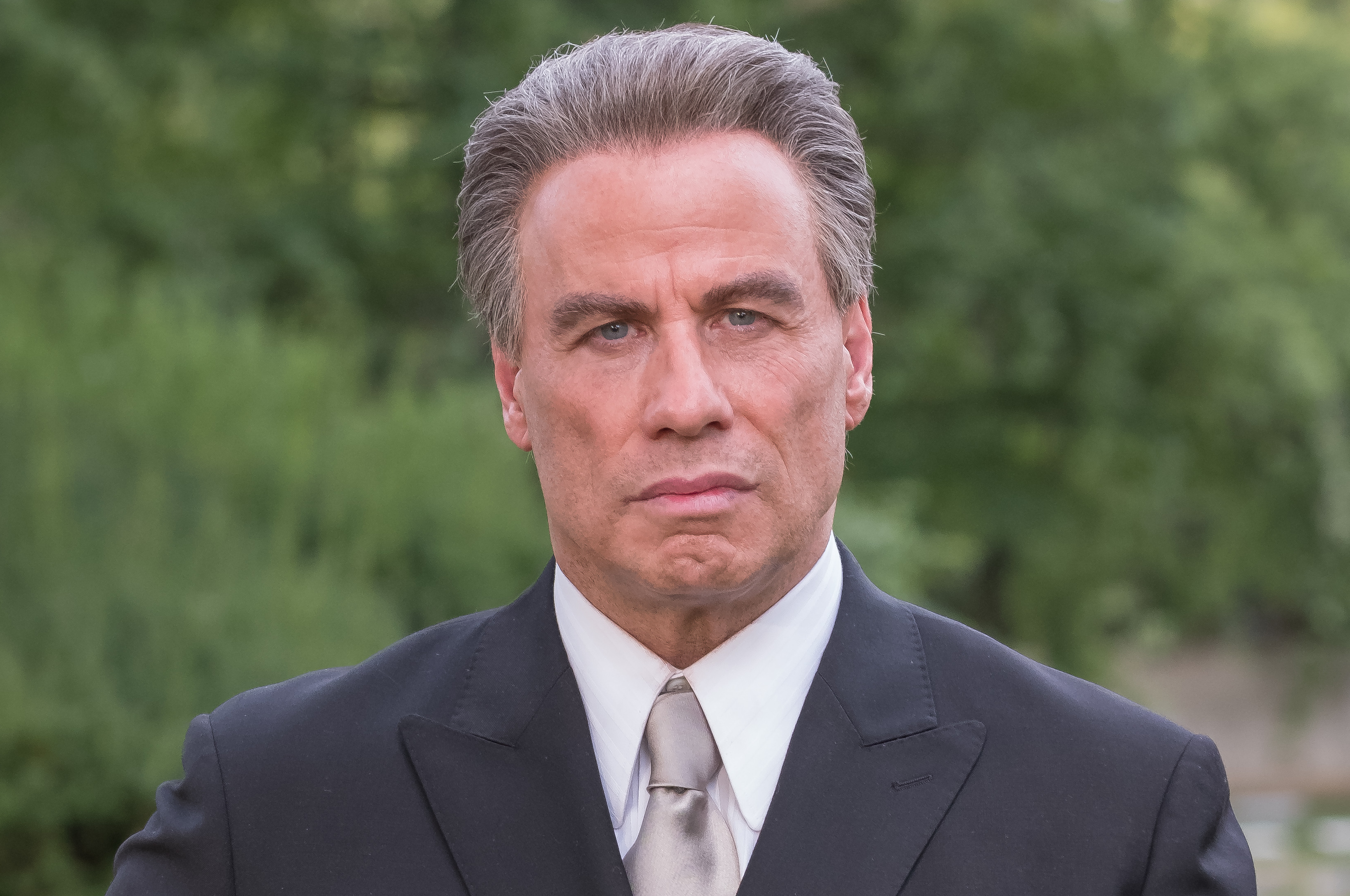 John Travolta's screen portrayal of crime boss Gotti takes a pelting