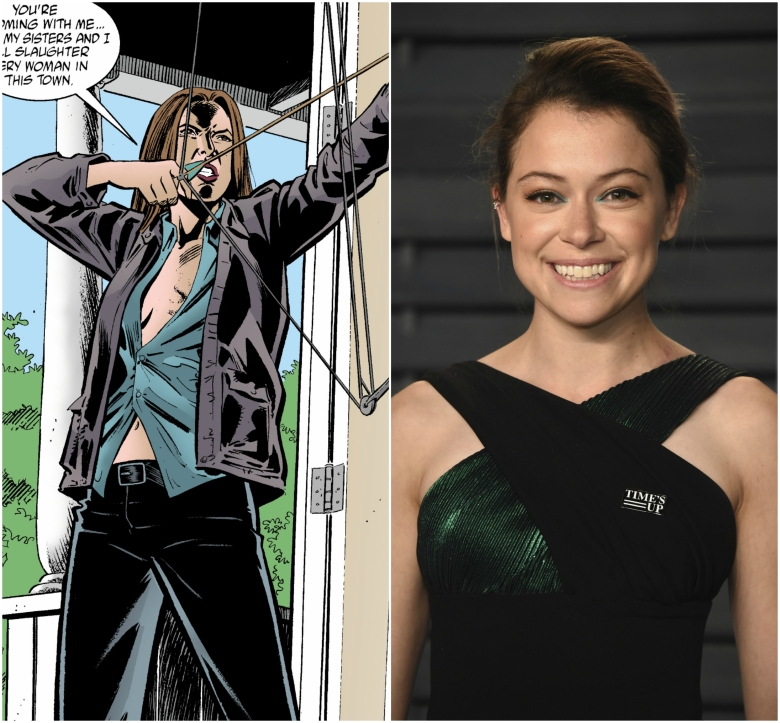 Hero Brown; Tatiana Maslany