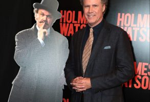 Las Vegas, NV - April 23, 2018: Will Ferrell at the CinemaCon Photo Call for Columbia Pictures' HOLMES & WATSON at The Colosseum at CaesarÕs Palace. #HolmesAndWatson