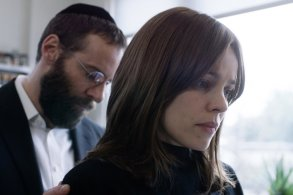 DISOBEDIENCEAlessandro Nivola (left) as Dovid Kuperman and Rachel McAdams (right) as Esti Kuperman CR: Bleecker Street