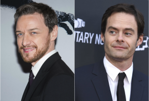 James McAvoy Bill Hader
