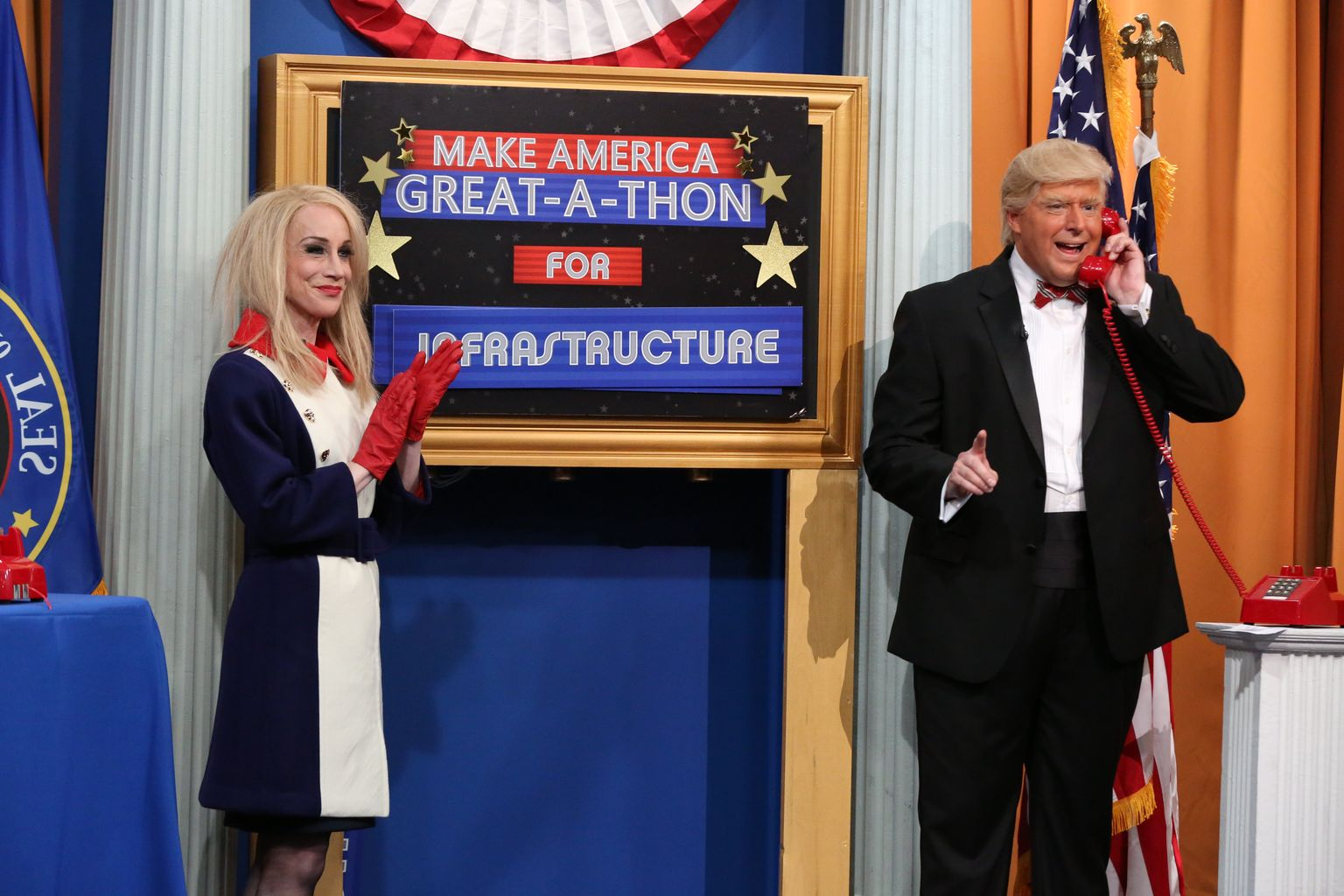 Comedy Central teases Kathy Griffin's performance as Kellyanne Conway