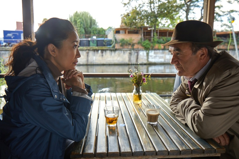 "Sandra Oh and David Haig, ""Killing Eve"""