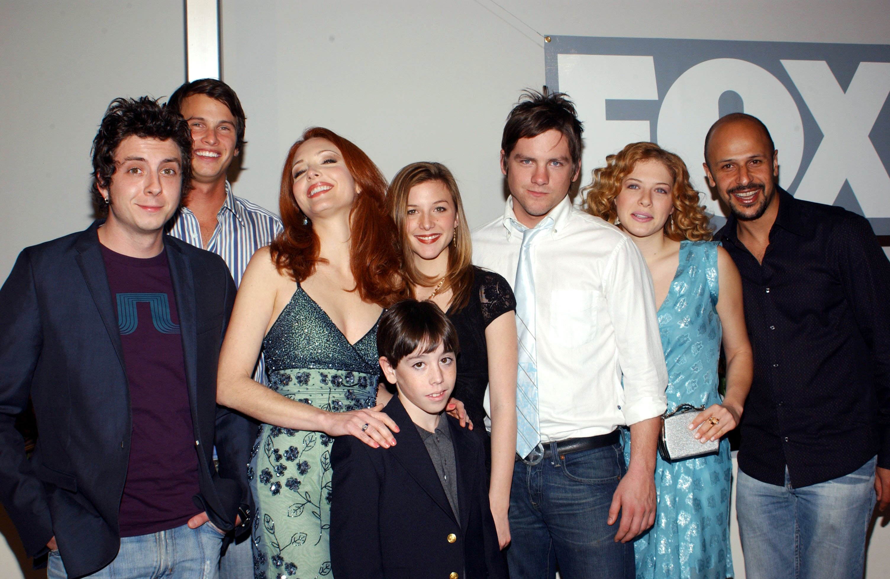 Cast of 'Life On A Stick' - Ryan Bellville, Charlie Finn, Amy Yasbeck, Frankie Ryan Manriquez, Saige Thompson, Zach Knighton, Rachelle Lefevre and Maz JobraniFOX NETWORK TCA WHITE HOT WINTER PARTY, LOS ANGELES, AMERICA - 17 JAN 2005