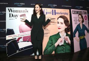 Rachel Brosnahan'The Marvelous Mrs. Maisel' TV show FYC event, Arrivals, Los Angeles, USA - 14 Apr 2018