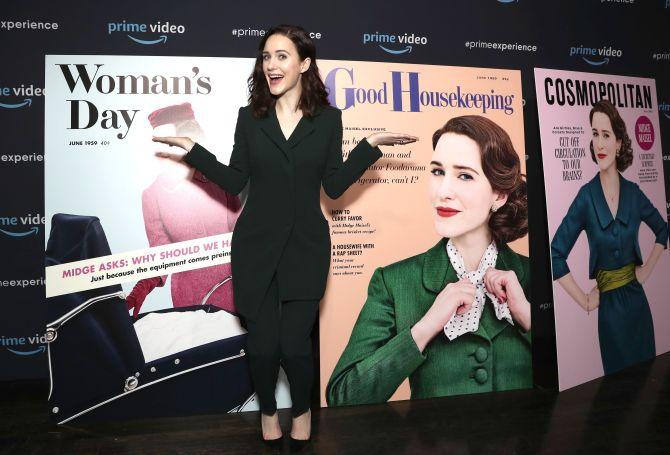 Rachel Brosnahan'The Marvelous Mrs. Maisel' TV