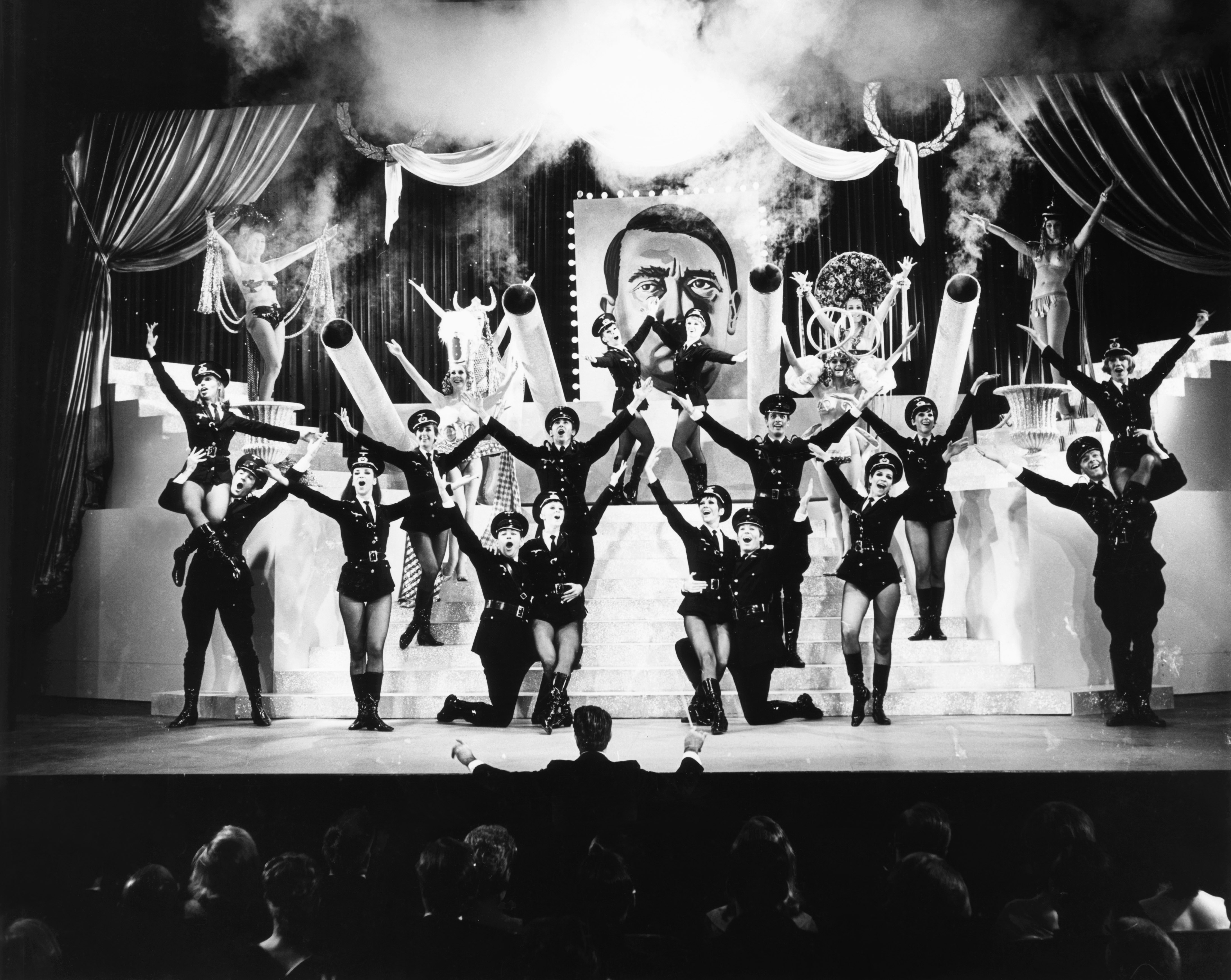 THE PRODUCERS, ('Springtime for Hitler' number), 1968