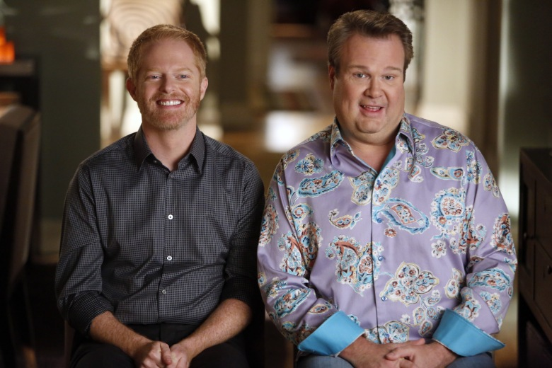 No Merchandising. Editorial Use Only. No Book Cover Usage.Mandatory Credit: Photo by ABC-TV/Kobal/REX/Shutterstock (5886190x)Jesse Tyler Ferguson, Eric StonestreetModern Family - 2009ABC-TVUSATelevision