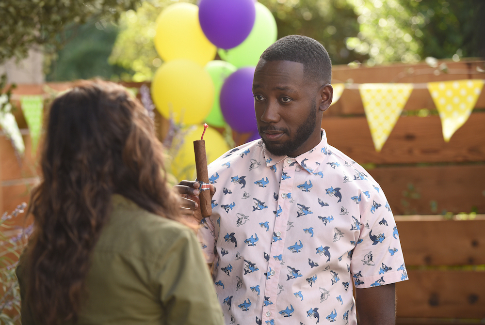 "NEW GIRL: Lamorne Morris in the ""About Three Years Later"" season seven premiere episode of NEW GIRL airing Tuesday, April10 (9:30-10:00 PM ET/PT) on FOX. ©2018 Fox Broadcasting Co. Cr: Ray Mickshaw/FOX"
