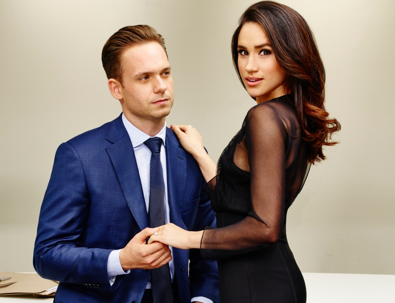 "Patrick J. Adams and Meghan Markle, ""Suits"""