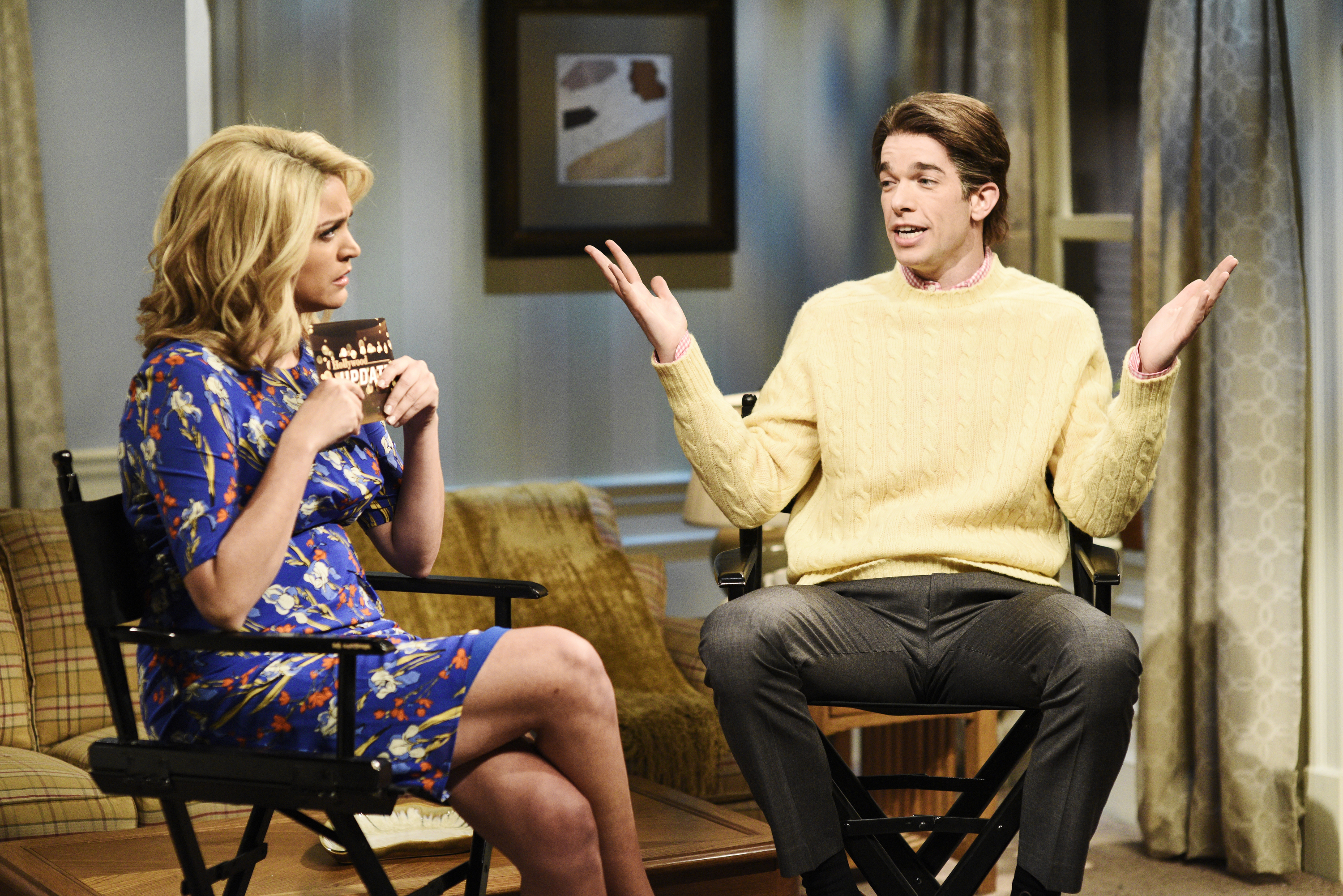 Snl Review Not So A List Host John Mulaney Makes For An A Grade Host Indiewire
