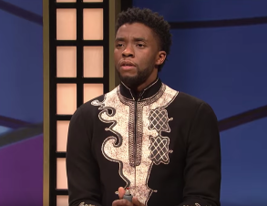 Chadwick Boseman SNL Black Jeopardy