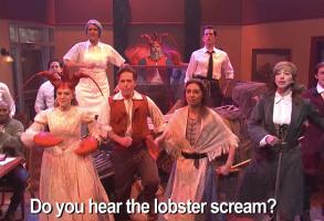 SNL Diner Lobster