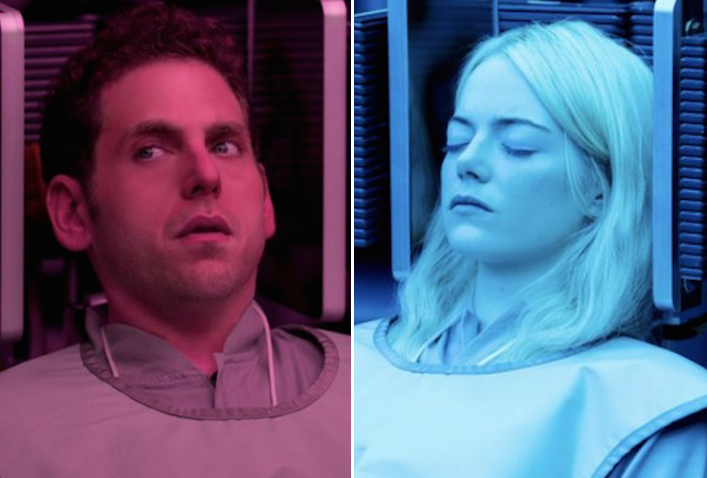 Maniac First Look Emma Stone And Jonah Hill In Netflix Series