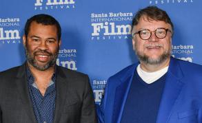 Jordan Peele and Guillermo del Toro