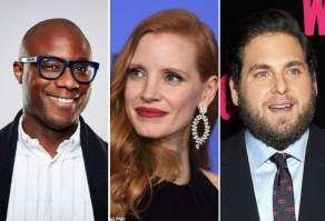 Barry Jenkins, Jessica Chastain, Jonah Hill