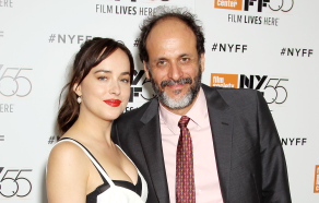 Dakota Johnson and Luca Guadagnino