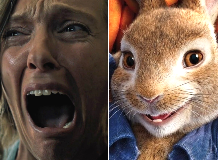 """Hereditary"" / ""Peter Rabbit"""