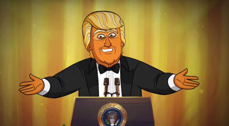 Our Cartoon President White House Correspondents Dinner