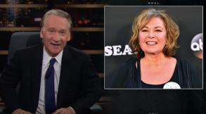 Bill Maher Roseanne Barr