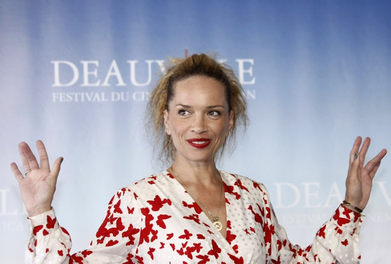 "Victoria Mahoney U.S Director Victoria Mahoney poses during a photocall for her film"" Yelling to the Sky"", at the 37th American Film Festival in Deauville, Normandy, FranceFrance American Film Festival, Deauville, France"