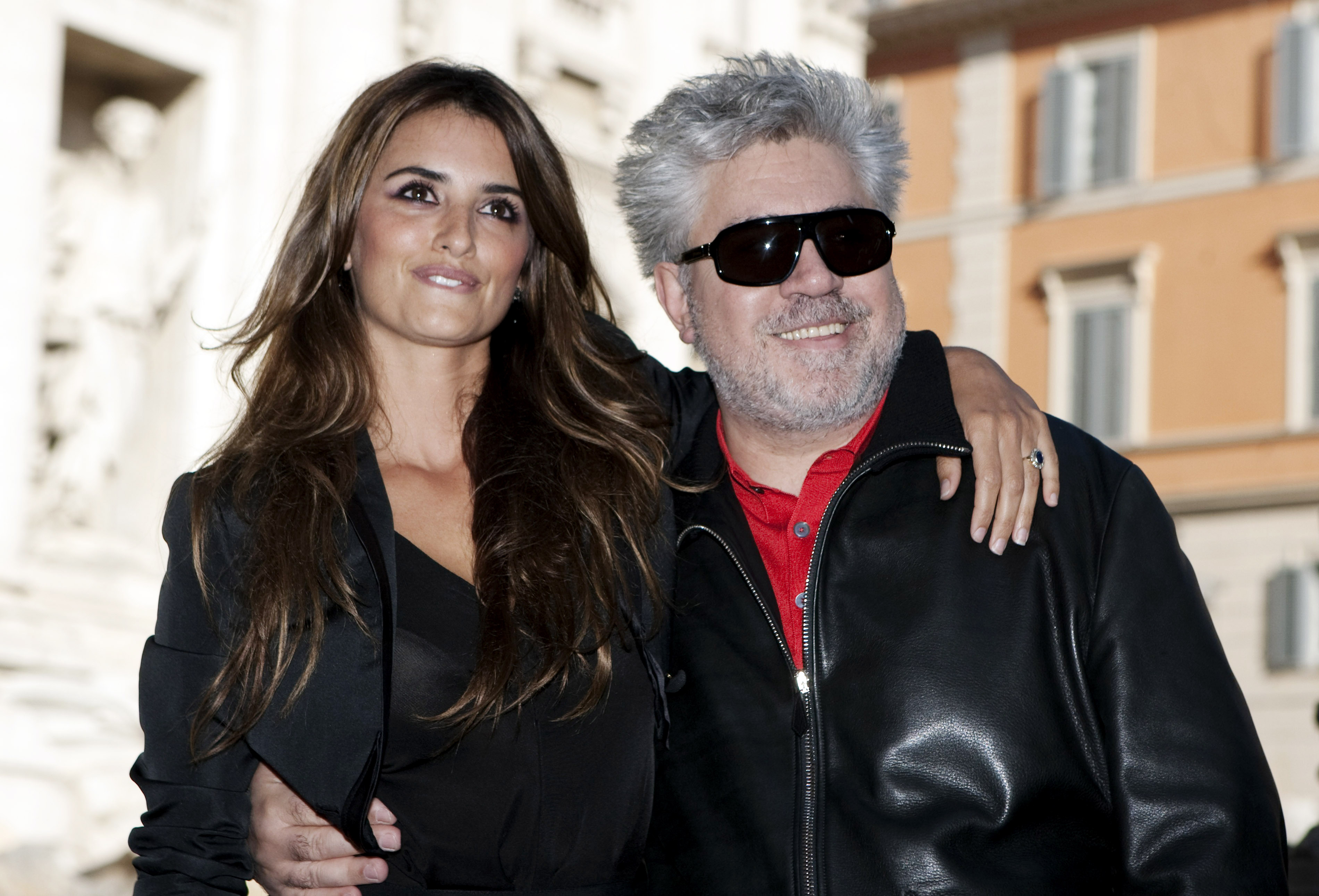 "Pedro Almodovar, Penelope Cruz Spanish actress Penelope Cruz, left, and director Pedro Almodovar pose in front of the Trevi fountain during a photo call for the presentation of the movie ""Broken Embraces"" in Rome, ItalyItaly Pedro Almodovar, Rome, Italy"