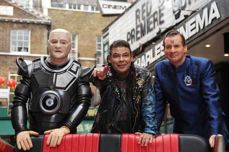 Red Dwarf X Photocall at the Prince of Wales Cinema Leicester Square Robert Llewellyn Craig Charles and Chris BarrieRed Dwarf X Photocall - 03 Oct 2012