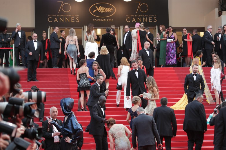 Atmosphere'Twin Peaks' premiere, 70th Cannes Film Festival, France - 25 May 2017