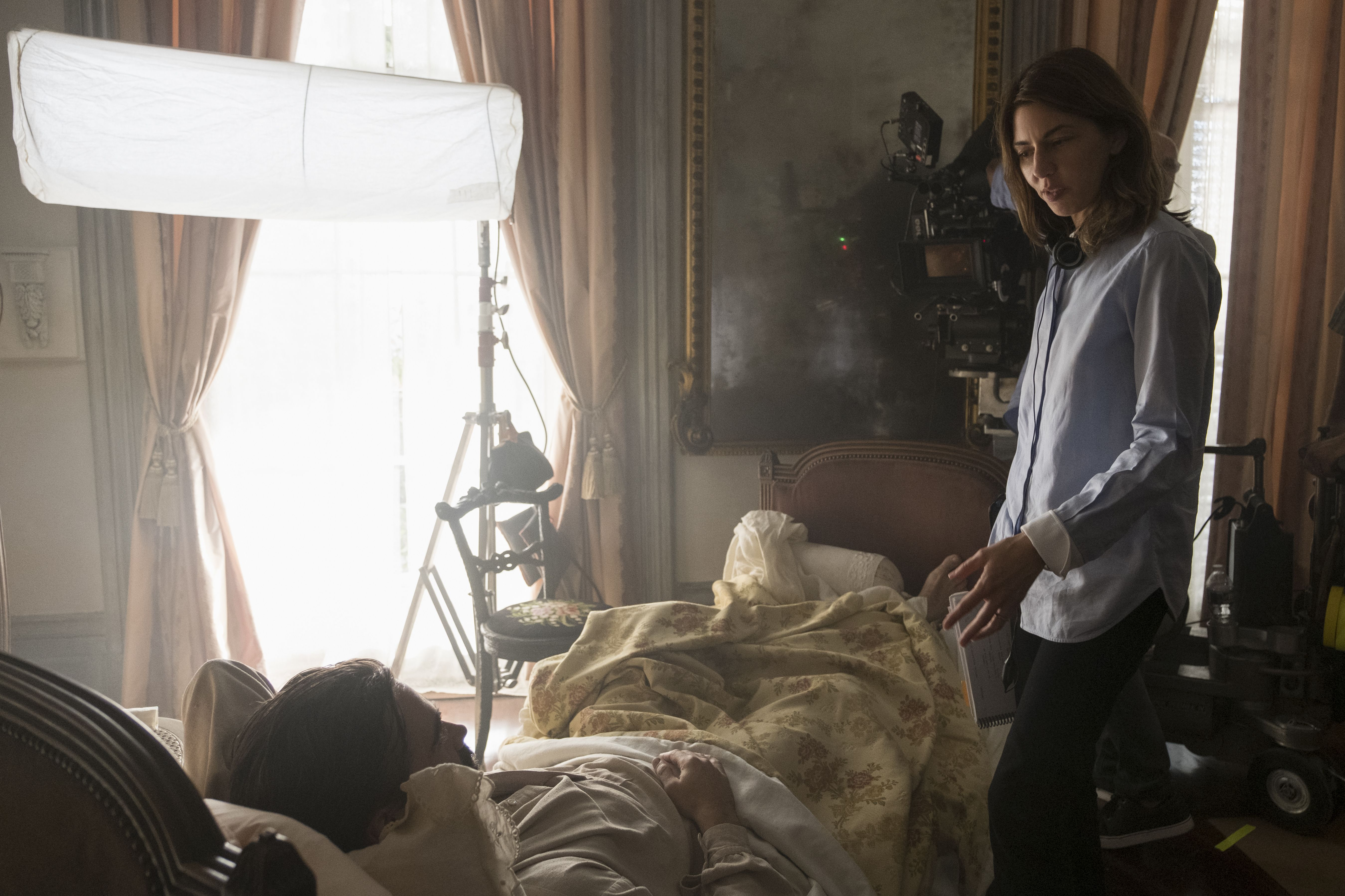 """No Merchandising. Editorial Use Only. No Book Cover UsageMandatory Credit: Photo by B Rothstein/Focus Features/Kobal/REX/Shutterstock (8877346u) Sofia Coppola """"The Beguiled"""" Film - 2017"""