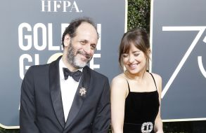 Luca Guadagnino and Dakota Johnson75th Golden Globe Awards at the Beverly Hilton Hotel, Beverly Hills, USA - 07 Jan 2018