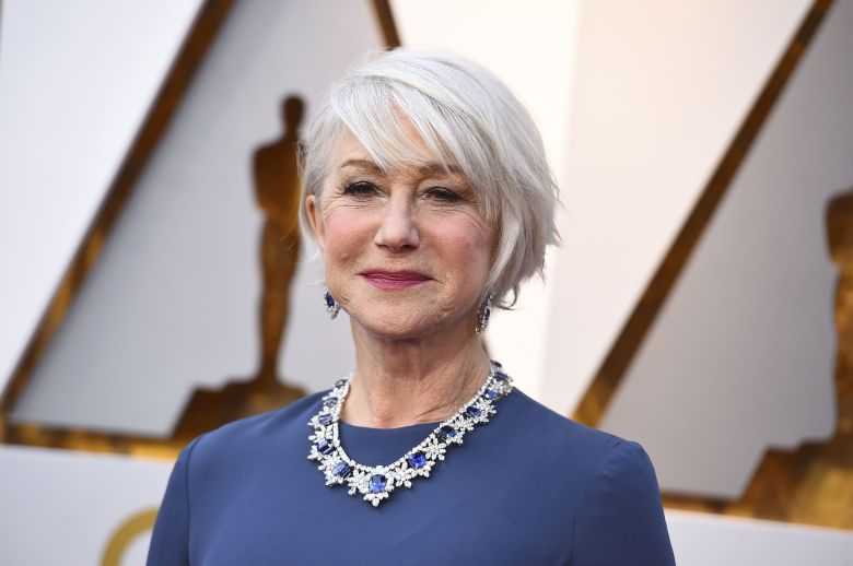 Helen Mirren arrives at the Oscars, at the Dolby Theatre in Los Angeles90th Academy Awards - Arrivals, Los Angeles, USA - 04 Mar 2018