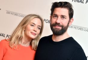 Emily Blunt, John Krasinski'Final Portrait' film screening, Arrivals, New York, USA - 22 Mar 2018